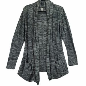 Aritizia Wilfred L silk cashmere grey cardigan